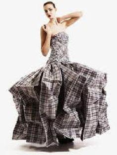 Vestidos con Material Reciclado, Moda y Diseño Ecoresponsable, VI Parte