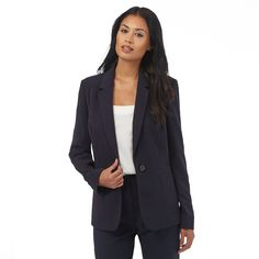 This tailored suit jacket from The Collection is the perfect workwear garment to…