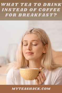 What tea to drink instead of coffee for breakfast? There are certain varieties of tea that are more suitable, for their qualities, to serve at this first meal each day. Consequently, experts recommend healthy breakfasts in which proteins and minerals are necessary for our bodies not to be missed.