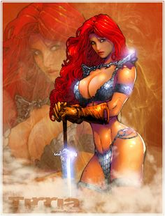red sonja 1 by TIRRIA7