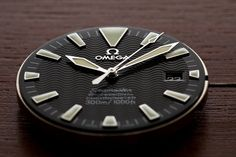 "Omega Seamaster movement    Omega cal. 1120, with 2230 ""Non-AC"" dial and modified Railmaster second hand."