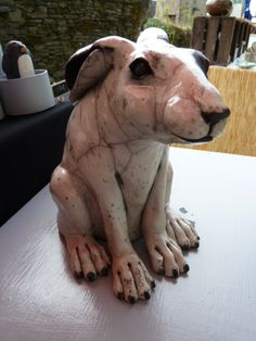 Raku Sculpture - hare