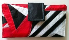 Womens Recycled Paraglider BiFold Clutch Purse Wallet by OffChutes