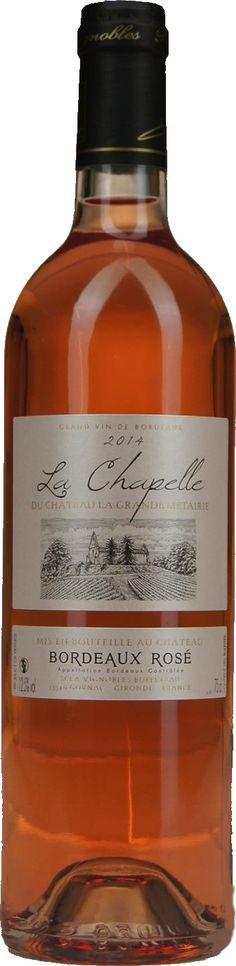 La Chapelle du Château la Grande Métairie - Rosé - Bordeaux A.O.P. | Dewit Wijnen