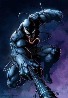 Venom by Enrico Galli #comics #art