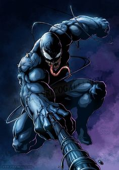 Venom by Enrico Galli #comics #art