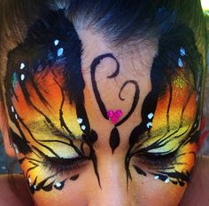 """Butterfly Face painting"""
