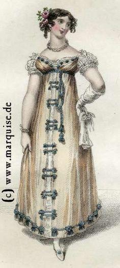 Evening dress, May 1816