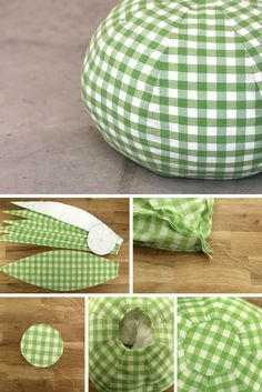 Tuto : réaliser un joli pouf en tissu Diy Couture, Couture Sewing, Sewing Tutorials, Sewing Crafts, Diy Pouf, Diy Bebe, Floor Pouf, Pillow Tutorial, Creation Couture