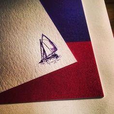 Nautical stationary.
