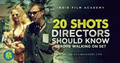 """Most people who have been directing for a while have a shorthand way of communicating with their DP. For example, you will typically hear a director say """"We'll start Wide then move intoan OTS and then a CU."""" Film crews have most likely done these setups a few hundred times and know h"""
