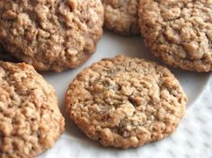 Oatmeal Cookies: still tasty, after all these years.
