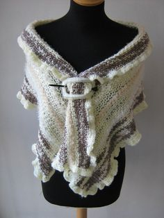 CROCHET SHAWL. $70.00 USD, via Etsy.