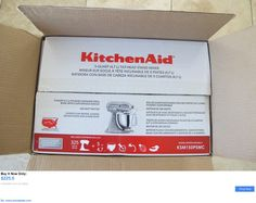 Small Kitchen Appliances: Kitchen Aid Ksm150psmc New In Box Metallic Chrome 5Qt Artisan Stand Mixer BUY IT NOW ONLY: $225.0 #priceabateSmallKitchenAppliances OR #priceabate