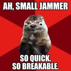 Evil Derby Otter // Ah, Small Jammer...So Quick. So Breakable.