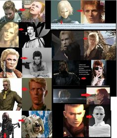 Every Metal Gear Solid character is David Bowie.