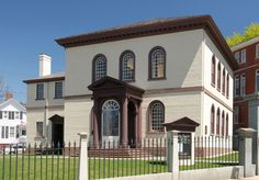 Touro Synagogue in Newport, RI. The oldest synagogue still standing in the US. Edward mentioned it in one of his letters to Cecilia.