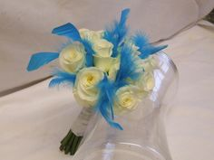 entertaining Good-Looking Turquoise Flower Ideas for Wedding