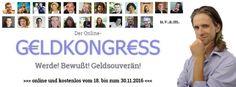 Alles beginnt beim Online-Geldkongress! ;)