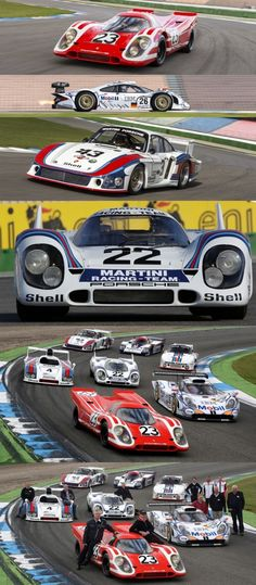 Porsche Le Mans Racing... What a heritage!