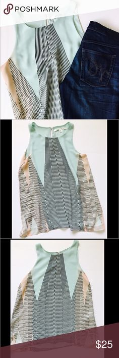 Max Studio Polyester Mint Top Size M Beautiful Max Studio 100%Polyester Top. Size M. Will be a great addition for any wardrobe. You can match it with almost any Jeans or pants. New without tags. Max Studio Tops Blouses