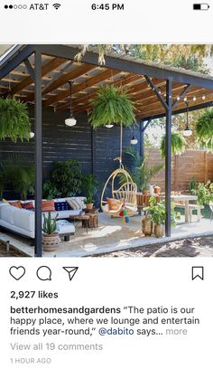 Cozy small backyard gazebo ideas for your landscaping Backyard patio furniture Backyard Gazebo, Garden Gazebo, Backyard Patio Designs, Pergola Designs, Backyard Landscaping, Deck Design, Pergola Kits, Pergola Ideas, Cozy Backyard
