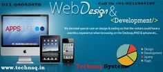 Technaq System Pvt Ltd is a best web designing and web development company in Delhi Ncr. The Website designing company in Noida Which aspiring to provide complete digital solutions to our clients.