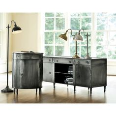 Louis Metal Console - Ballard Designs. I am in love with that chest & must have it!!!