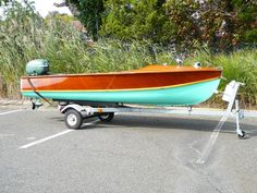 1956 WAGEMAKER WOLVERINE 15 Bottom Paint, Custom Muscle Cars, Bay Boats, Boat Restoration, Classic Wooden Boats, Vintage Boats, Boat Covers, Best Tyres, Outboard Motors