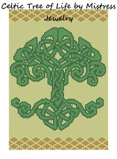 Celtic Tree of Life Word Map & Chart | Bead-Patterns