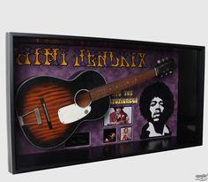 Guitar with signature Jimi Hendrix - ANTIQUITIESCA