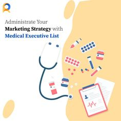 Improve your marketing campaign strategy with ReachStream's Medical Executive Marketing List  #Medical #Database #ReachStream Email List, Machine Learning, Health Care, Improve Yourself, Campaign, Medical, Marketing, Medicine, Med School