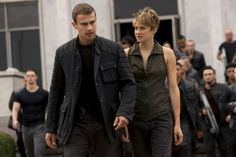 Four, Tris and Dauntless army. So adorable!!