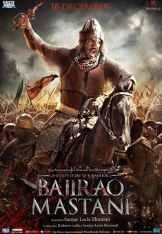 Ranveer Singh as Peshwa Baji Rao I | A Sweeping Saga of Love, War and Politics: Bajirao Mastani http://www.fallinginlovewithbollywood.com/2015/12/a-sweeping-saga-love-war-and-politics-bajirao-mastani.html