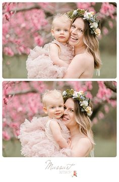 Wedding photography, see the eye catching photo example here. Mother's Day Photos, Spring Photos, Gown Photos, Photography Photos, Wedding Photography, Mother Baby Photography, Blooming Apples, Mother Daughter Pictures, Mommy And Me Photo Shoot