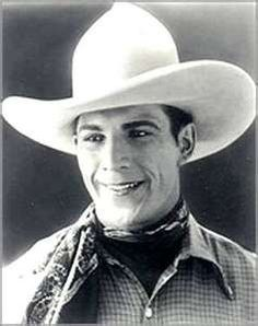 Tom Mix    My mothers favorite cowboy actor