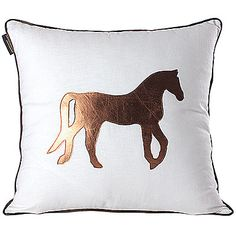 Linen+/+Leather/suede+Pillow+Cover+,+Animal+Print+Modern/Contemporary+–+AUD+$+18.58