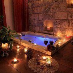 64 Best Candlelit Baths images   Romantic bathrooms ...