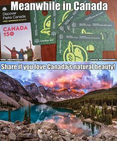 We get FREE park passes this year! (They are normally regular price) Canada Humor, Canada Funny, Canada 150, Canadian Memes, Canadian Things, I Am Canadian, Canadian Stereotypes, Meanwhile In Canada, Free Park