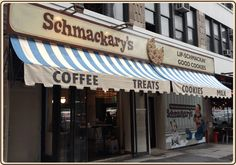 Shmackary's NYC's best chocolate chip cookie.  Plus there's a maple bacon cookie too, so....