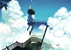 Jump! Reach Out for the Skies! - pixiv Spotlight