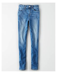 Shop Curvy High-Waisted Jeggings at American Eagle to find your new favorite fit. Designed for curves and made for you, curvy jeans feel as good as they look. Womens Ripped Jeans, Ripped Jeans Outfit, Ae Jeans, Curvy Jeans, Nike Outfits, Fashion Outfits, Women's Fashion, Mens Outfitters, Eagle Outfitters
