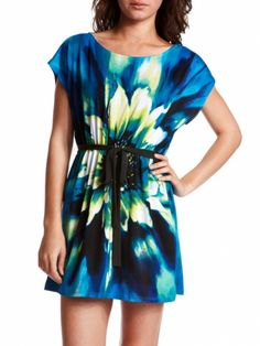 Bold Blossom  This season's florals are of two schools: ditsy, itty-bitty prints on one side and photorealist close-ups on the other. If your taste tends toward the modern, this smooth knit dress makes an ideal choice.     Get it now: Floral dress with sash, $26.99 at charlotterusse.com