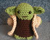 Yoda crochet doll only $15 LOVE!