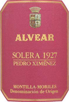 NV Alvear Pedro Ximénez Montilla-Moriles Solera 1927 375 ml
