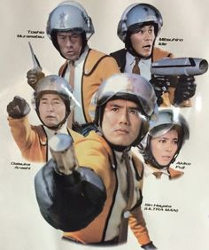 If you watched this show then you remember that Hayata was the man -- Ultraman that is!