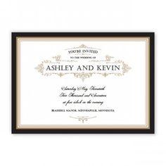 Sterling Wedding Invitations