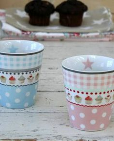 Krasilnikoff Happy Mugs Muffin rosa Neuheit 2014