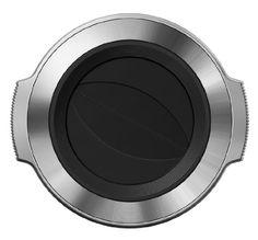 Olympus V325373SW000 LC-37C automatischer Objektivdeckel für M.Zuiko 14-42mm EZ silber