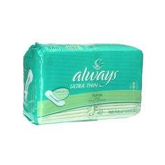 Always Ultra Thin Long Super Pads, 40-Count Packages (Pack of 3) ❤ liked on Polyvore featuring bathroom related